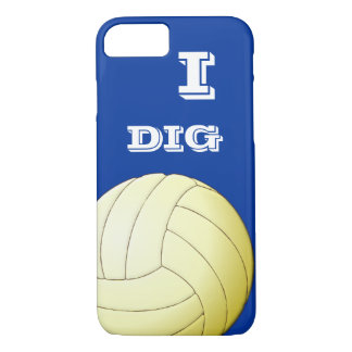 I DIG VOLLEYBALL iPhone 7 case