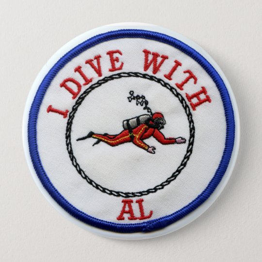 I Dive With AL Button