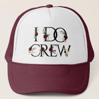 I Do Crew | Bridal Bachelorette Party Boho Chic Trucker Hat