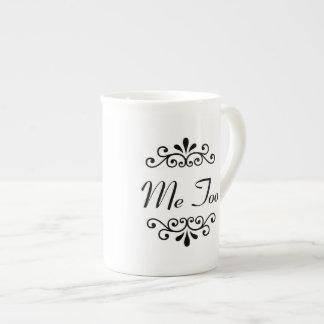 """""""I Do, Me Too"""" Couples Personalized Mug (2 of 2)"""