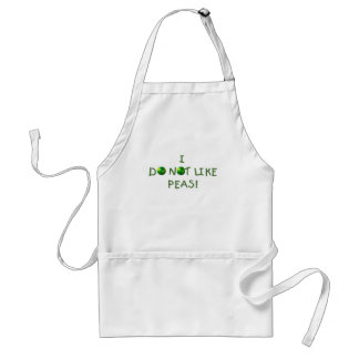 I Do  Not Like Peas Tshirts and Gifts Standard Apron
