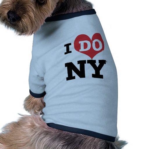 I DO NY heart Dog Tee Shirt
