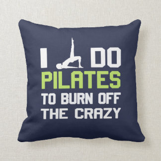 I Do Pilates To Burn Off The CRAZY Cushion