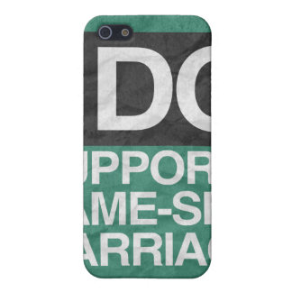 I DO SUPPORT GAY MARRIAGE -.png iPhone 5 Cases