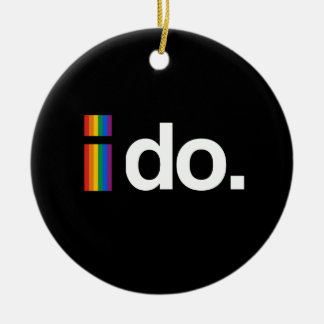 I DO WANT TO MARRY.png Christmas Ornament