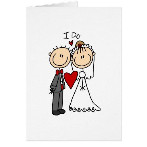 I Do Wedding Ceremony Card