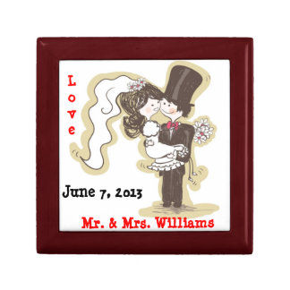 I Do! Wedding Keepsake Box