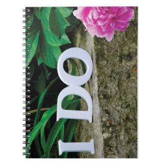 I Do Wedding Plans Notebook