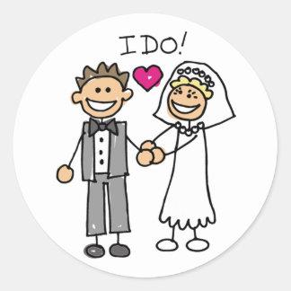 I Do Wedding Stickers