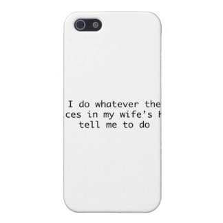 I Do Whatever In My Wife'S Head iPhone 5 Case