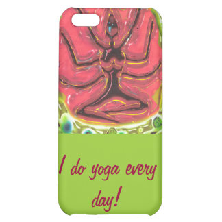 I do yoga every day case for iPhone 5C