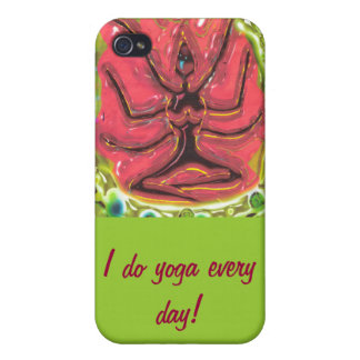 I do yoga every day covers for iPhone 4