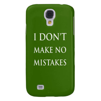 I don t make no mistakes in white HTC vivid cases