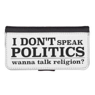 I Don't Speak Politics Wanna Talk Religion