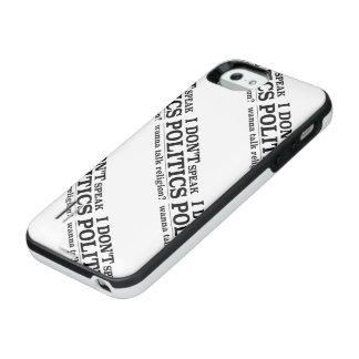 I Don't Speak Politics Wanna Talk Religion iPhone SE/5/5s Battery Case