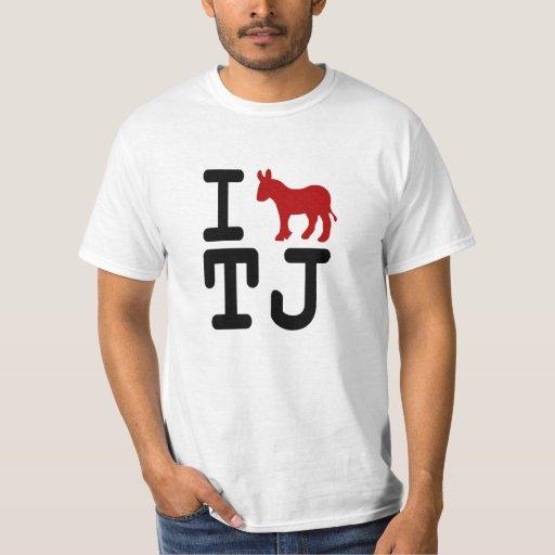 I Donkey Tijuana - Value Shirt