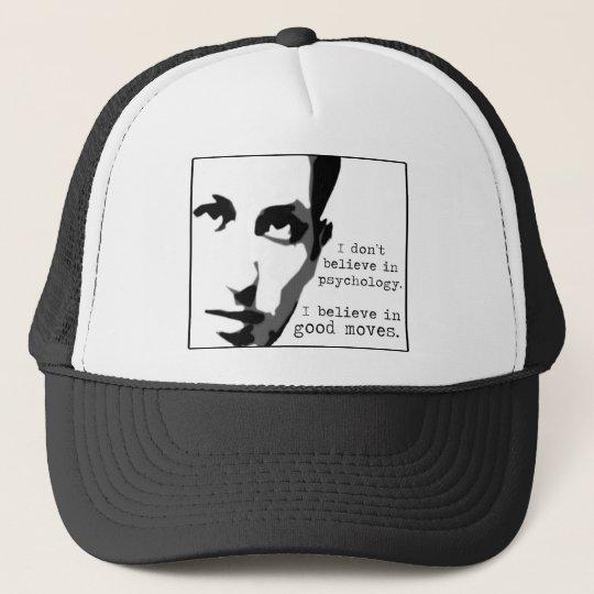 I Don't Believe In Psychology Trucker Hat