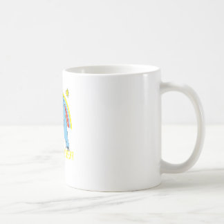 i dont care bear basic white mug