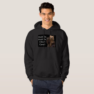 I don't care!! hoodie