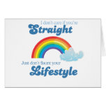 I DON'T CARE IF YOU'RE STRAIGHT CARD