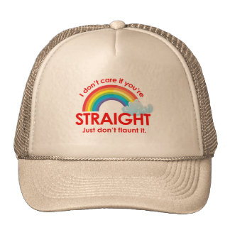 I don't care if you're straight. Just don't flaunt Cap