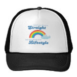 I DON'T CARE IF YOU'RE STRAIGHT TRUCKER HAT