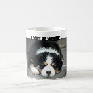 I Don't Do Mornings - Australian Shepherd Mug