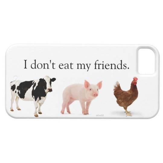 """I Don't Eat Friends"" iPhone 5 case"