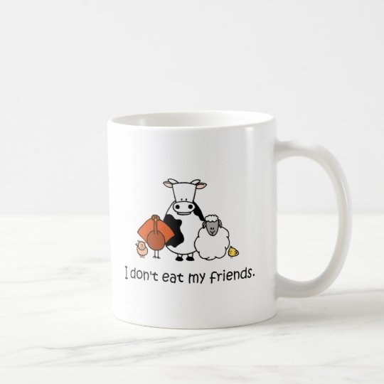 I dont eat my friends coffee mug