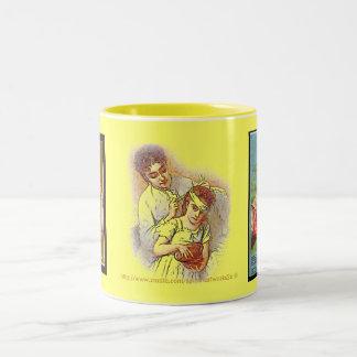 I don't feel good-I have a boo boo cup Two-Tone Mug