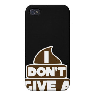 I don't give a POO Case For iPhone 4