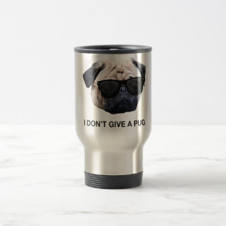 I Don't Give a Pug Travel Mug