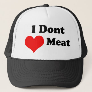 I dont Heart Meat Hat