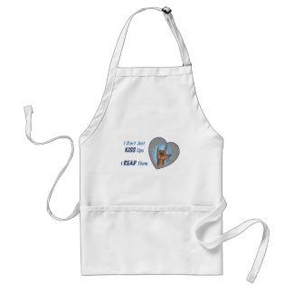 I Don't Just Kiss Lips, I READ Them: ASL Standard Apron