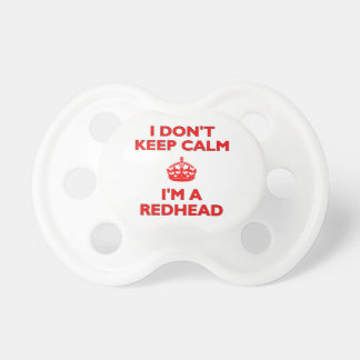 I Don't Keep Calm I'm a Redhead Dummy