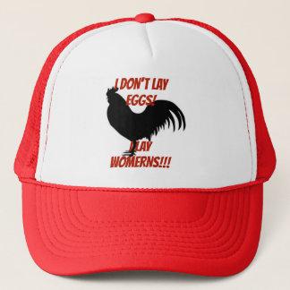 I Dont Lay Eggs I lay Womerns Trucker Hat
