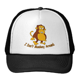 I Don't Monkey Around Mesh Hats
