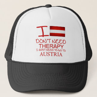 I Don't Need Therapy I Just Need To Go To Austria Trucker Hat