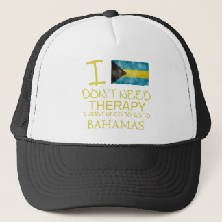 I Don't Need Therapy I Just Need To Go To Bahamas Trucker Hat