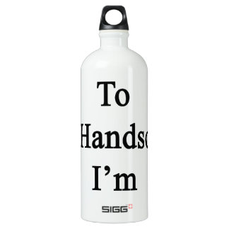 I Don't Need To Be Handsome I'm A Cellist SIGG Traveller 1.0L Water Bottle