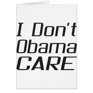I don't obamacare design greeting cards