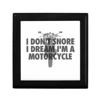 I don't snore I dream I'm a Motorcycle Gift Box