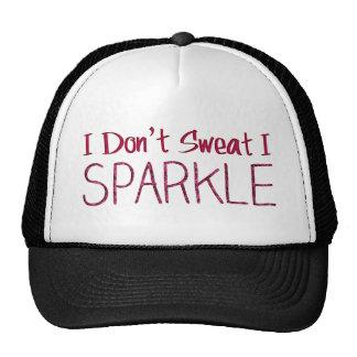 I Don't Sweat I Sparkle Cap