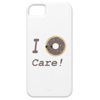 I Donut Care! chocolate iPhone 5 Case