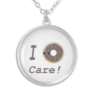 I Donut Care chocolate Pendant