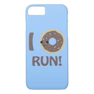 I Donut Run! iPhone 7 Case