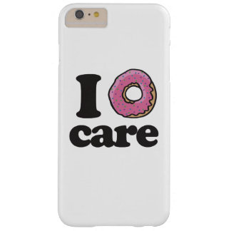 I doughnut care barely there iPhone 6 plus case