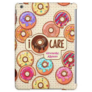 I Doughnut Care Cute Funny Donut Sweet Treats Love