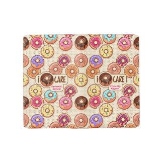 I Doughnut Care Cute Funny Donut Sweet Treats Love Large Moleskine Notebook