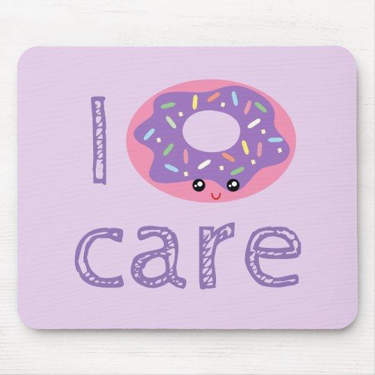 I doughnut care cute kawaii doughnut pun humour